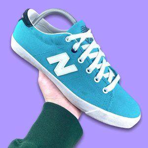 New Balance V45 Aqua Blue Sneakers